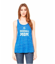 GMB Bella + Canvas Flowy Racerback Women's Tank - True Royal Marble (GMB-069-RO)