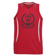 AJX Razor Men's Singlet - Red/White (AJX-015-RE)