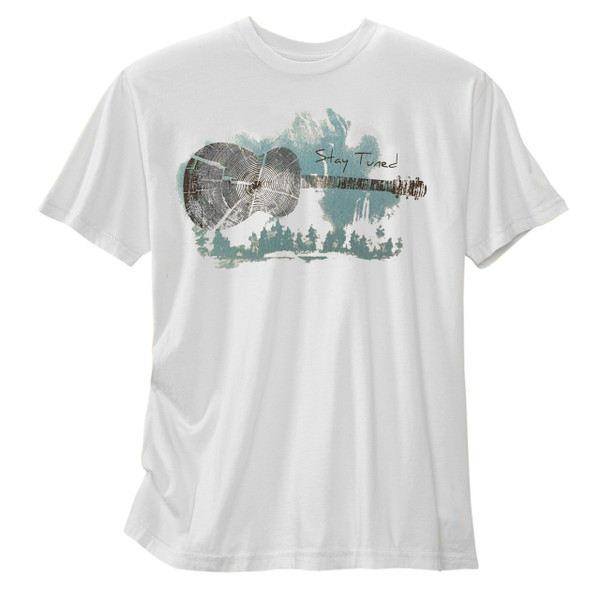 Men's Organic Short Sleeve T-Shirt - Stay Tuned Tin Cup