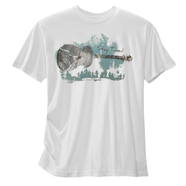 Men's Organic Short Sleeve T-Shirt - Stay Tuned Tin Cup
