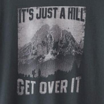 Organic Cotton Women's T-Shirt Just a Hill