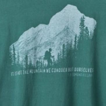 Men's Organic Hiking T-Shirt Forest