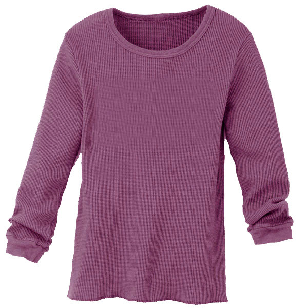Infant Thermal Solid - Eggplant