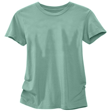 Women's Organic Cotton T-Shirt Solid - Sea Green