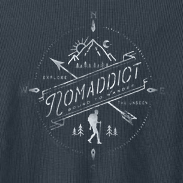 Nomaddict Men's Thermal Soft Black