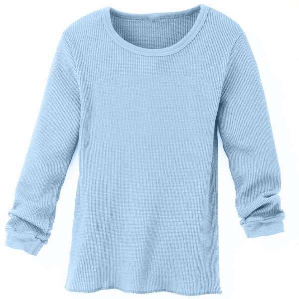 Organic Cotton Solid Infant Thermal Blue Bird