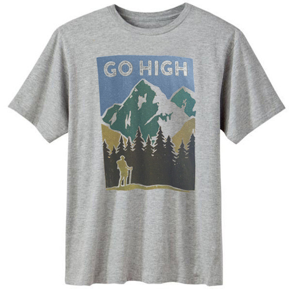 0506f1a1e73 Go High Men s Organic short sleeve t-shirts