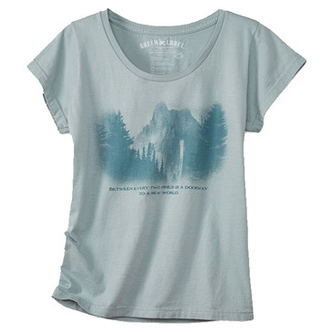 Women's Junior Sized Slim Fit Scoops - Two Pines Silver Spruce