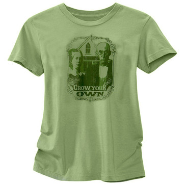 Women's Short Sleeve T-Shirt - Grow Your Own Moss