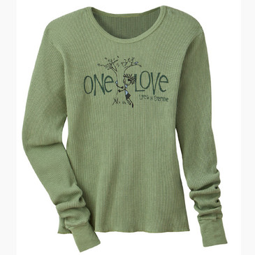 Women's Slim Thermal Ollie Tree Hugger Moss