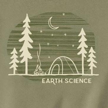 Men's Organic T-Shirt Earth Science Khaki