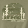 Men's Organic T-Shirt Earth Science Khaki