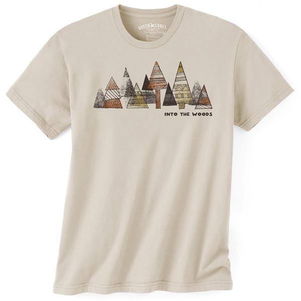 Men's Organic T-Shirt Into The Woods Wheat