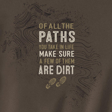 Men's Organic T-Shirt Paths Marshland