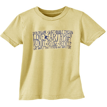 Toddler Tee Live Simply Butter