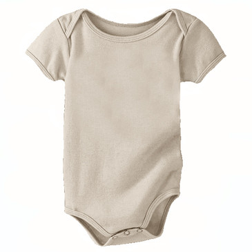 60% Off Solid Infant Onesie - Wheat - 12-18M