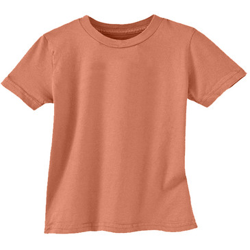 Solid Toddler Tee - Adobe - 2T
