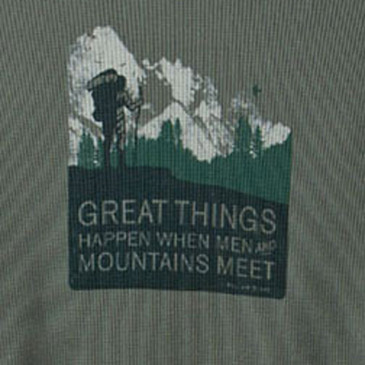 Men and Mountains Men's Thermal