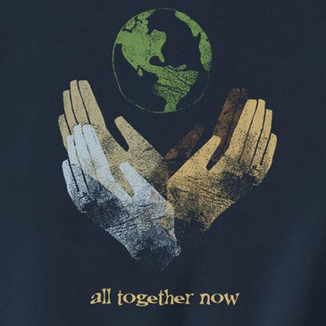 All Together Now Men's XXL Slim-Fit T-Shirt