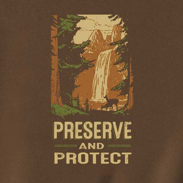Preserve and Protect Men's T-Shirt Marshland