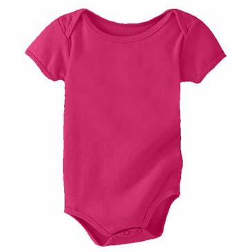 Infant Onesie Fuchsia