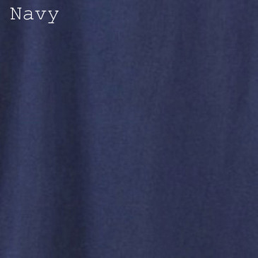 Solid Men's T-Shirt - Navy Small