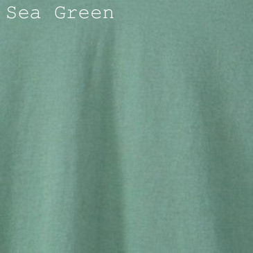 Solid Men's Slim Fit T-Shirt - Sea Green Large