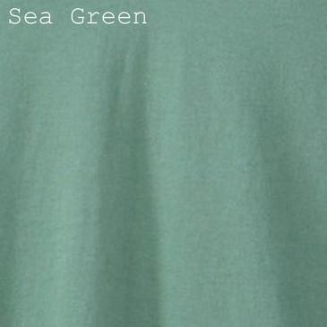 Solid Men's Slim Fit T-Shirt - Sea Green Large