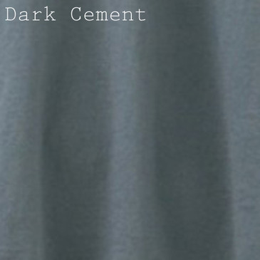 Solid Men's Slim Fit T-Shirt - Dark Cement X- Large