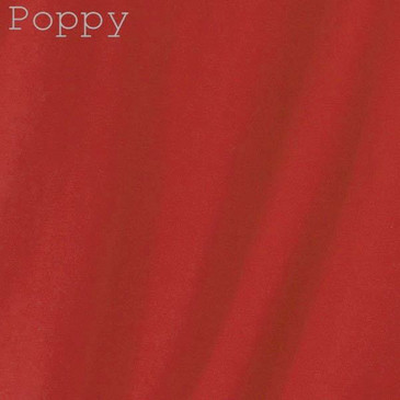Solid Men's Slim Fit T-Shirt - Poppy X- Large