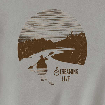 Streaming Men's T-Shirt Dove Grey