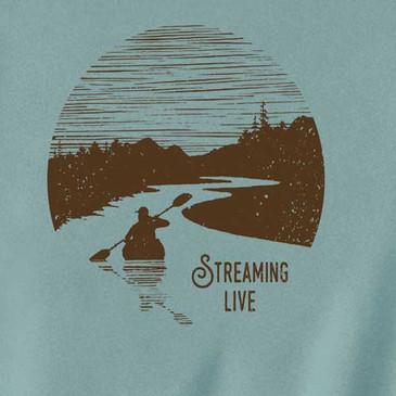 Streaming Men's T-Shirt Sea Foam