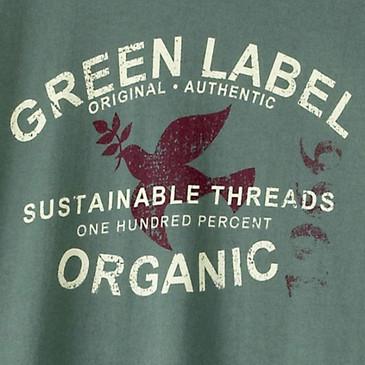 Men's Organic Short Sleeve T Shirt -  Authentic WIllow