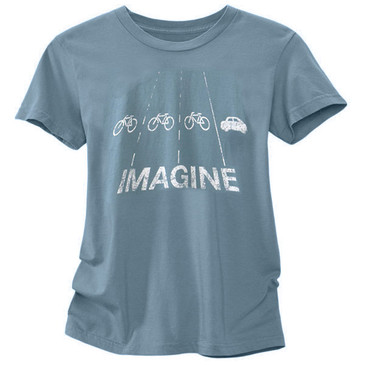 Women's Cycling Tees - Imagine