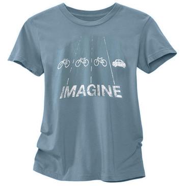 Women's Cycling Tees - Imagine