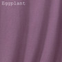 Women's Slim Fit Thermal Shirts - Solid Eggplant