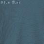 Women's Organic Slim Thermals - Solid Blue Star