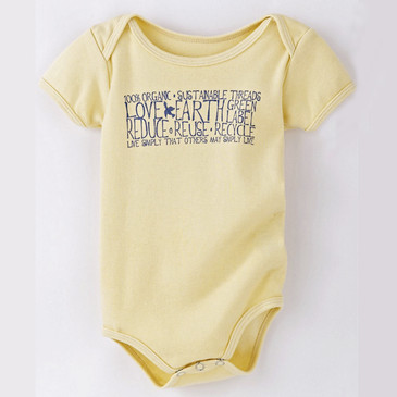 Infant Onesie Live Simply Butter