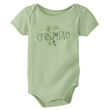 Infant Onesie Ollie Tree Hugger Moss