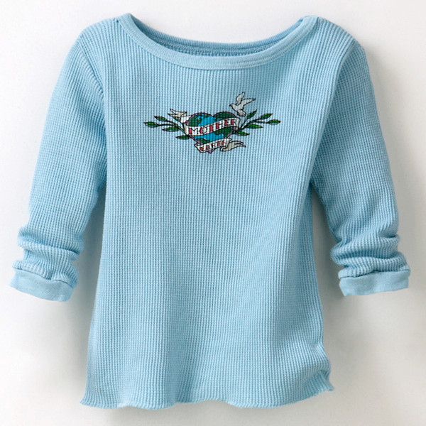 Infant Thermal Mother Earth Blue Bird