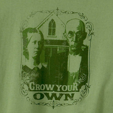 Men's Ringspun TShirts - Grow Your Own Moss