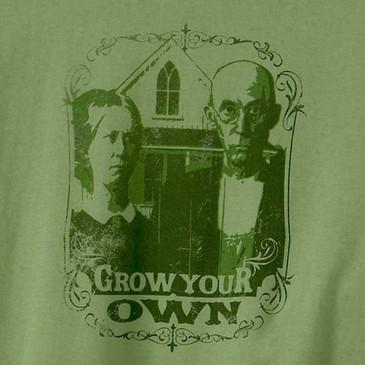 Men's Long Sleeve T Shirts - Grow Your Own Moss