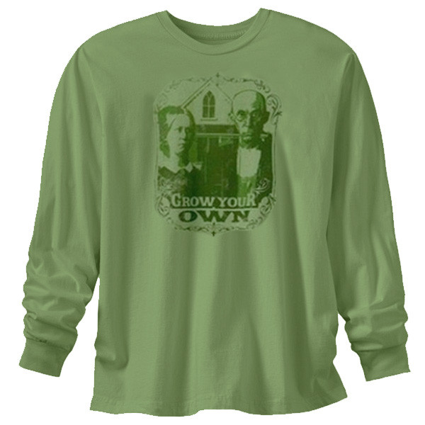 Men's Long Sleeve T Shirts - Grow Your Own Moss