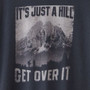 Men's Long Sleeve XXL T Shirts - Just a Hill Soft Black