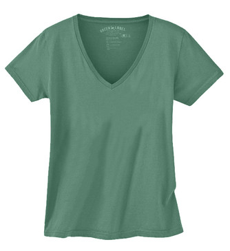 Solid Wm. Classic V-neck - Sea Green Large