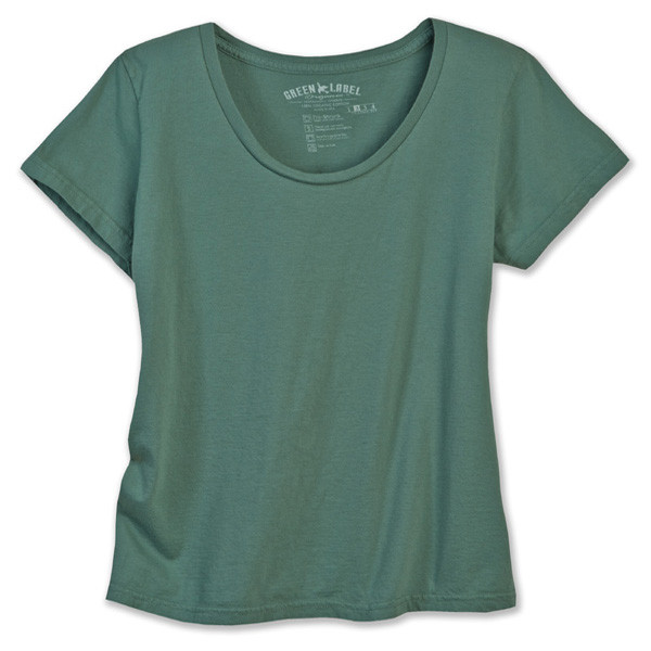 Woman's Super Soft Classic Scoops - Sea Green