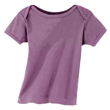 60% Off Solid Infant Tee - Eggplant 6-12M