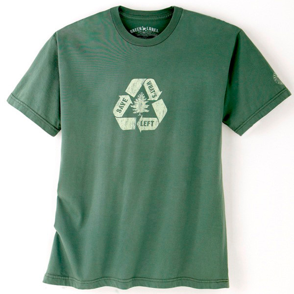 Men's Eco Friendly XXL T Shirts - Save What's Left Willow