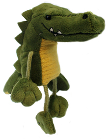Snappy Crocodile Finger Puppet