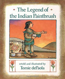 Indian Paintbrush Story Book